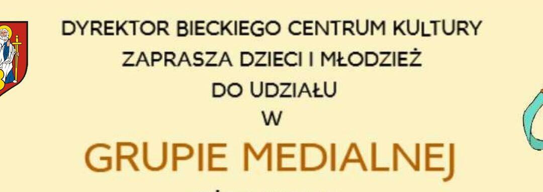 Zapraszamy do udziału w GRUPIE MEDIALNEJ